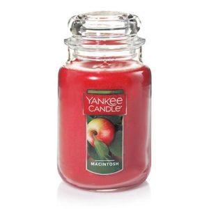 Yankee Candle Macintosh Large 22oz Glass