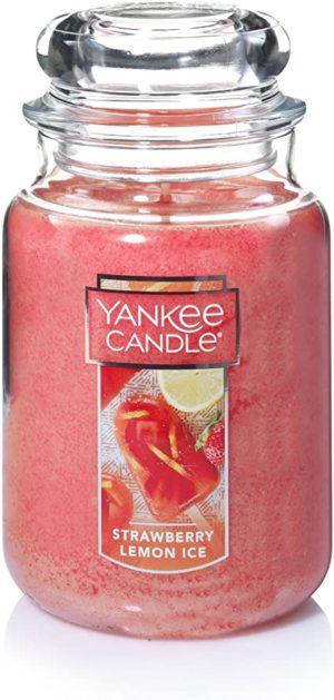 Yankee Candle Strawberry Lemon Ice Tumbler 22oz