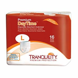 Tranquility Large Premium Daytime Disposable Underwear